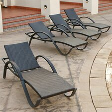 Slate Deco Chaise Lounge (Set of 4)