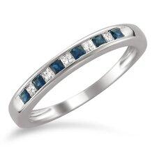 14k White Gold Princess-Cut Ring