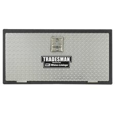 Rhino Lined Underbody Truck Tool Box with Aluminum Door