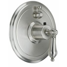 <strong>California Faucets</strong> Coronado Styletherm Single Integral Volume Control Shower Faucet Trim