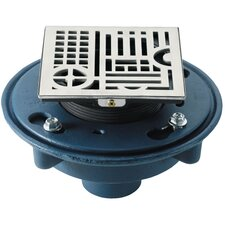 Deluxe Deco Line Styled Shower Drain Set