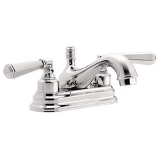 <strong>California Faucets</strong> Monterey Two Handle Centerset Bathroom Faucet
