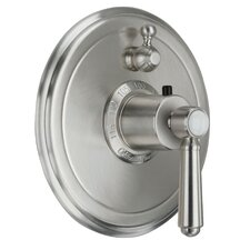 <strong>California Faucets</strong> Topanga StyleTherm Volume Control Shower Faucet Trim