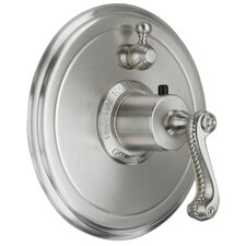 <strong>California Faucets</strong> Santa Monica Single Volume Control Shower Faucet Trim