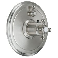 <strong>California Faucets</strong> Venice StyleTherm Volume Control Shower Faucet Trim