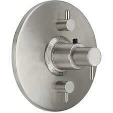 <strong>California Faucets</strong> Avalon Styletherm Dual Integral Volume Control Shower Faucet Trim