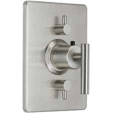 Montara Styletherm Two Volume Control Square Shower Faucet Trim