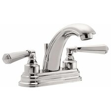 "<strong>California Faucets</strong> Monterey ""J"" Style Double Handled Centerset Bathroom Faucet"