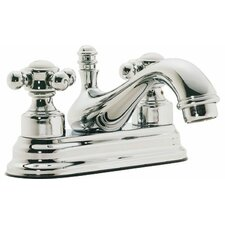 <strong>California Faucets</strong> Venice Double Handle Centerset Bathroom Sink Faucet