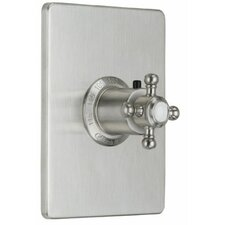 <strong>California Faucets</strong> Venice Styletherm Thermostatic Shower Faucet Trim