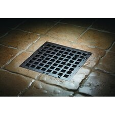 """Deluxe Mission Shower Drain Set with 3"""" No Hub Outlet"""