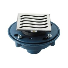 """Deluxe Wave Shower Drain Set with 3"""" No Hub Outlet"""