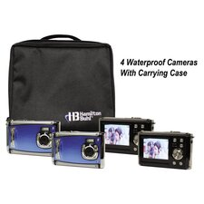 "Ruggedized Four Digital Cameras Kitwith Flash and 2.4"" LCD, Curriculum Guide"