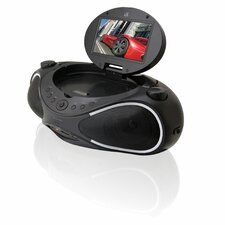 Sound Vision Portable Video Boombox Movie and Music System