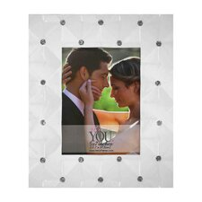 Wedding Janay Quilted with Stones Picture Frame