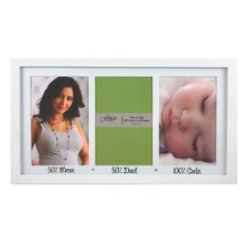 Baby Hayden Mom Dad Cute Matted Picture Frame