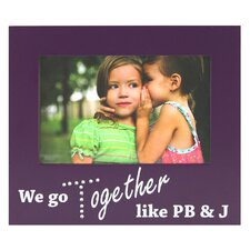 Expressions Wisona Together Pbj with Gems Picture Frame