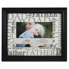 Expressions Macman Dad / Father / Daddy Picture Frame