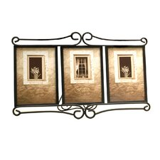Tuscan Alton Triple Picture Frame
