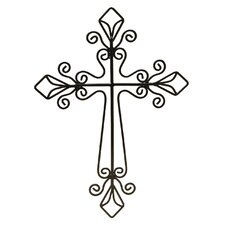 Stylish Solutions Kiera Openwork Cross Wall Art