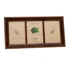 Eco Woods Sierra Two Tone Triple Picture Frame