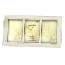 <strong>Fetco Home Decor</strong> Longwood Triple Photo Frame