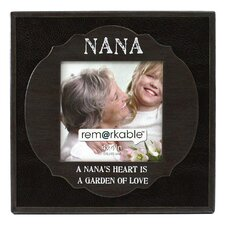 Expressions Nana's Heart is a Garden of Love Photo Frame