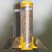 Window Mount Finch Feeder (Set of 2)
