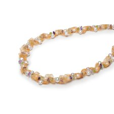 Ribbon Cultured Pearl Necklace