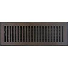 "5.5"" x 15.5"" Flat Vent with Damper"