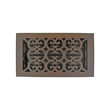"7.5"" x 11.5"" Scroll Vent with Damper"