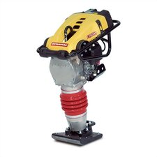 "11"" x 13"" Vibratory Rammer for Soil w/ Honda GX100, 3.0 HP Gas Powered Engine"