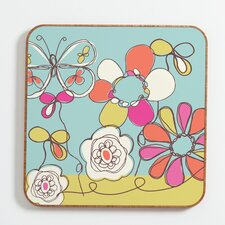 Fun Floral by Rachael Taylor Framed Graphic Art Plaque