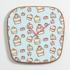 Jennifer Denty Cake Slices Clock