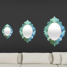 Gabi Azul Baroque Mirror