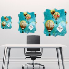 Land Of Lulu Herd of Balloons 2 Quatrefoil Magnet Board