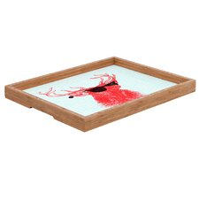 Nick Nelson Young Buck Rectangular Tray