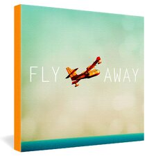 Fly Away by Happee Monkee Graphic Art on Canvas