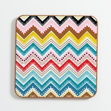 <strong>DENY Designs</strong> Khristian A Howell Nolita Chevrons Wall Art