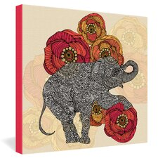 <strong>DENY Designs</strong> Valentina Ramos Rosebud Gallery Wrapped Canvas
