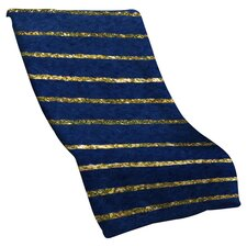 <strong>DENY Designs</strong> Social Proper Nautical Sparkle Polyester Fleece Throw Blanket