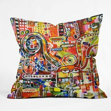 Robin Faye Gates It Came from Detroit Polyester Throw Pillow