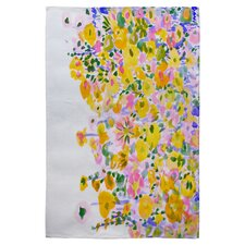 Amy Sia Flower Fields Sunshine Rug