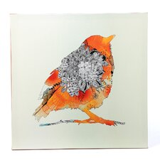 Bird by Iveta Abolina Graphic Art on Canvas
