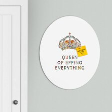 Bianca Green Her Daily Motivation Oval Magnet Board