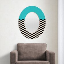 Bianca Green Follow The Sky Oval Mirror