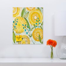 <strong>DENY Designs</strong> Cori Dantini Sun Burst Flowers Rectangular Magnet Board