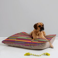 <strong>DENY Designs</strong> Juliana Curi Color Stripes Pet Bed