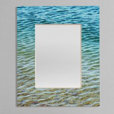 <strong>DENY Designs</strong> Shannon Clark Ombre Sea Rectangular Mirror