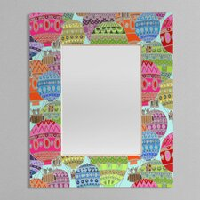 Sharon Turner Candy Sky Rectangular Mirror
